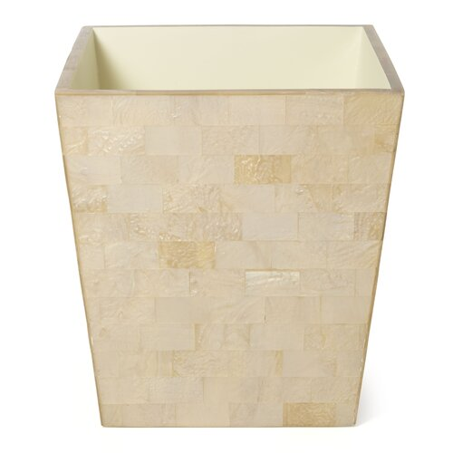 Roselli Trading Company Bellagio Bath Tapered Wastebasket