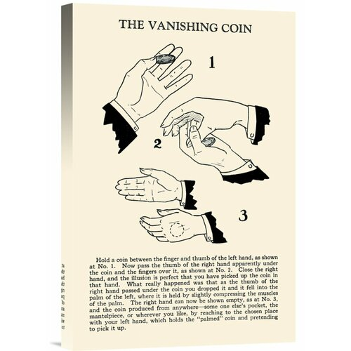 Bentley Global Arts 'The Vanishing Coin' by Retromagic Vintage Advertisement on Canvas