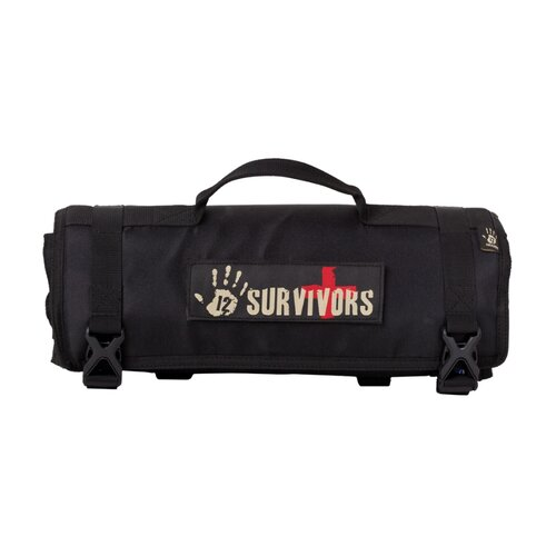 12 Survivors First Aid Rollup Kit