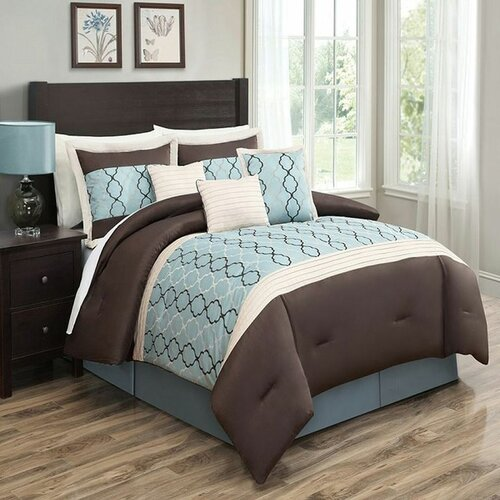 Cole 7 Piece Comforter Set