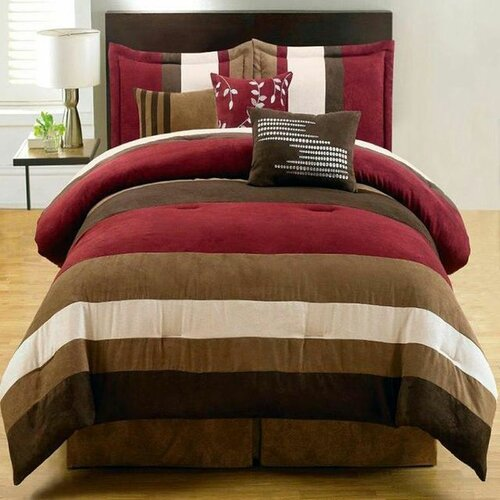 Duena 7 Piece Comforter Set