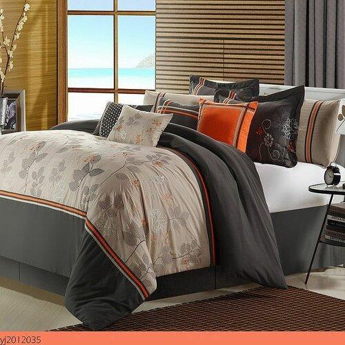 Boca 8 Piece Comforter Set