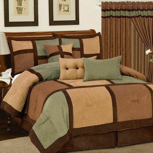 Dareen 7 Piece Comforter Set