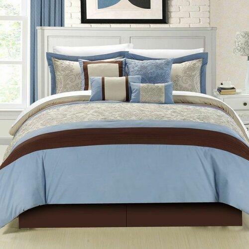Chic Home Montego 8 Piece Comforter Set