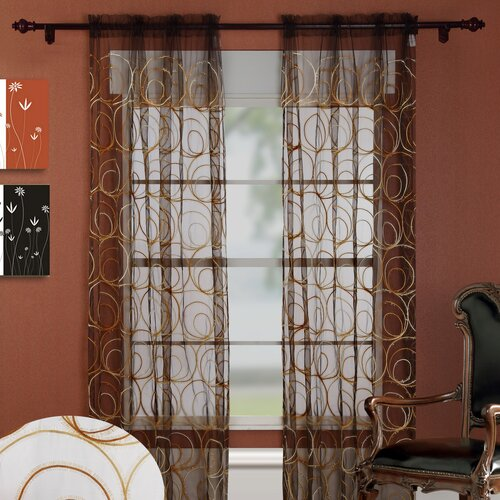 Chic Home Evelyn Grommet Curtain Panel