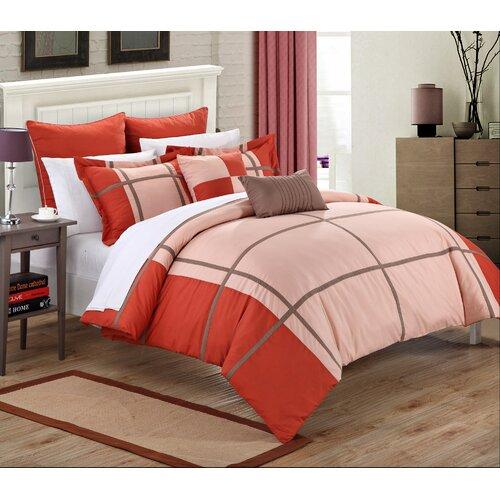chic home regency 7 piece comforter set reviews wayfair