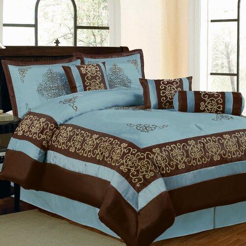 Nikita 8 Piece Comforter Set