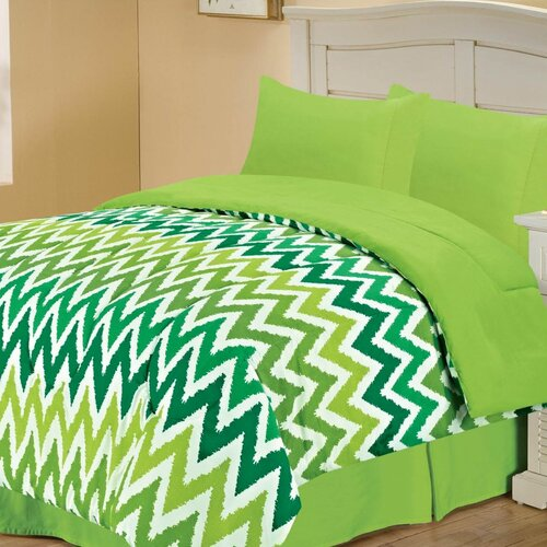 Chic Home Microfiber Reversible Comforter