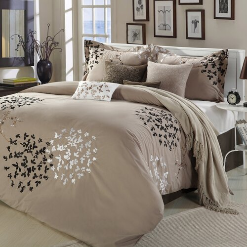 Fancy Bedroom Chairs Modern Zen Bedroom Rustic Chic Bedroom Decor Exclusive Bedroom Sets: Chic Home Cheila 12 Piece Comforter Set & Reviews