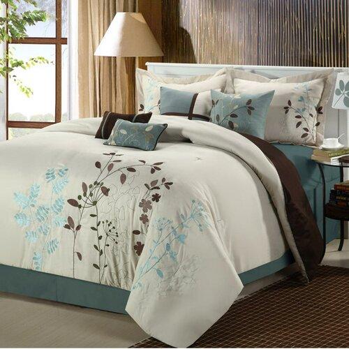 Chic Home Bliss Garden 8 Piece Comforter Set Amp Reviews