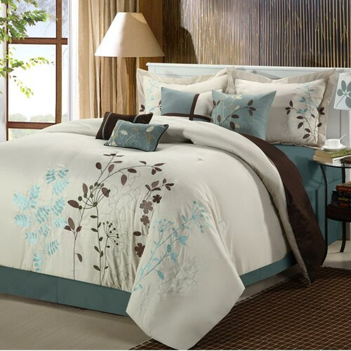 Chic Home Bliss Garden 8 Piece Comforter Set