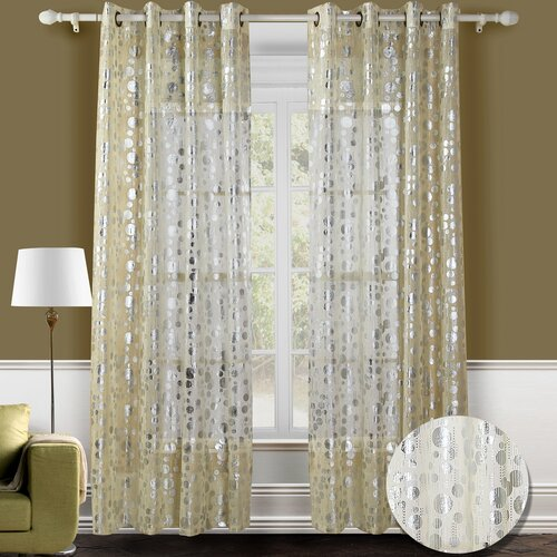 Chic Home Spotlight Semi Grommet Curtain Panel
