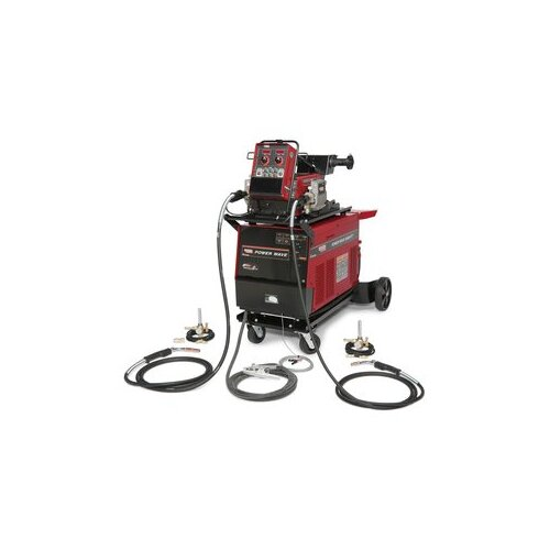 Lincoln Electric Power Wave 455M/STT PipeFab Ready-Pak 230V Welder 570A