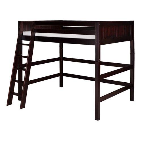 Camaflexi Camaflexi Full High Loft Bed With Panel