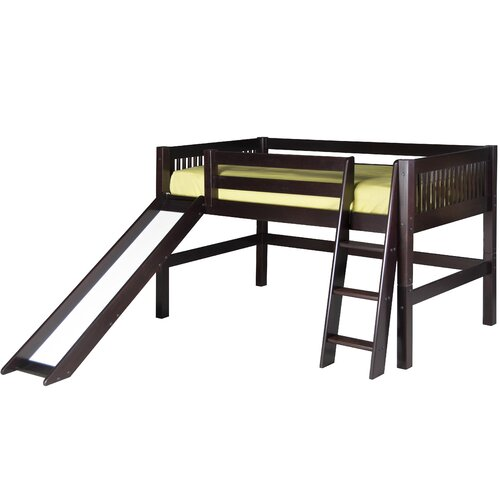 Sale alerts for   Twin Low Loft Bed with Slide  - Covvet