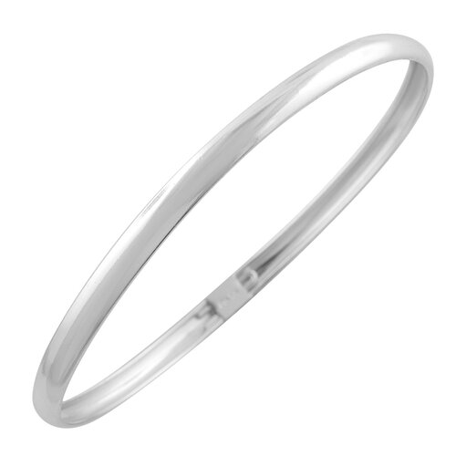Silver Filled Bangle