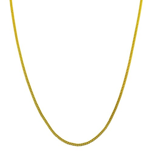 Yellow Gold Baby Curb Link Chain