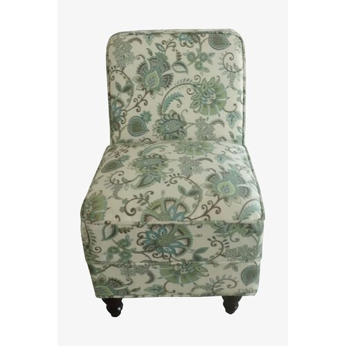 NOYA USA Classic Floral Slipper Chair