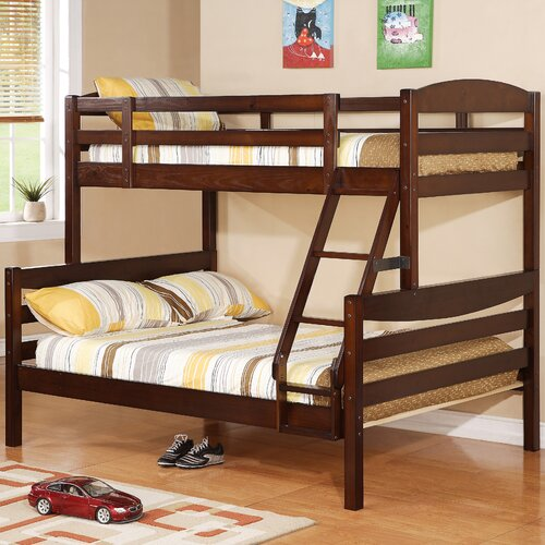 Home Loft Concept Twin over Double Bunk Bed