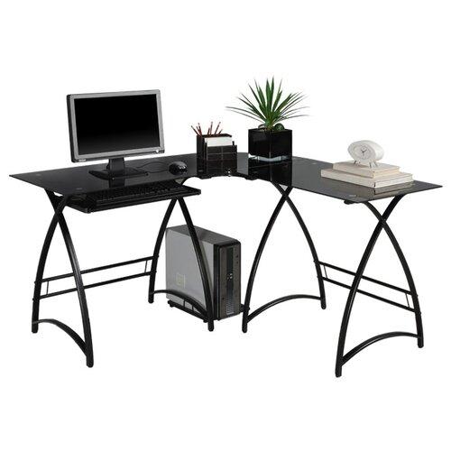 Alexa L-Shaped Computer Desk
