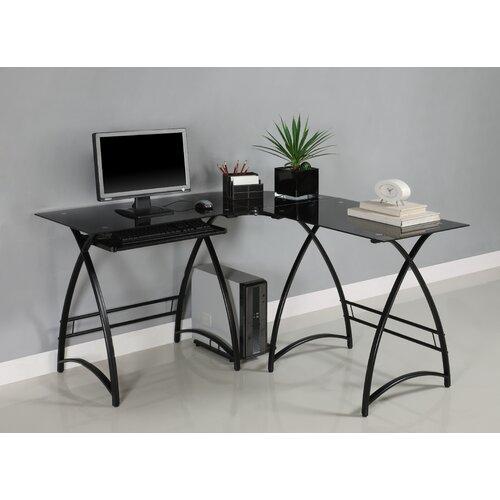 Home Loft Concept Alexa L-Shaped Computer Desk