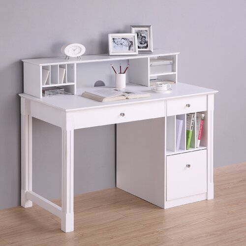 Home Loft Concept Deluxe Writing Desk with Hutch