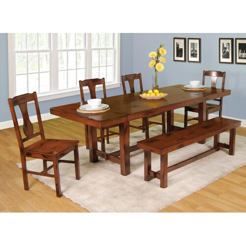 Home Loft Concept Huntsman 6 Piece Dining Set