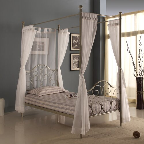 Home Loft Concept Twin Canopy Bed