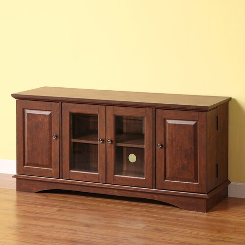 home loft concept wyatt 52 tv stand reviews wayfair. Black Bedroom Furniture Sets. Home Design Ideas