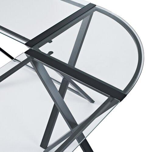 Home Loft Concept X-Frame Corner Computer Desk