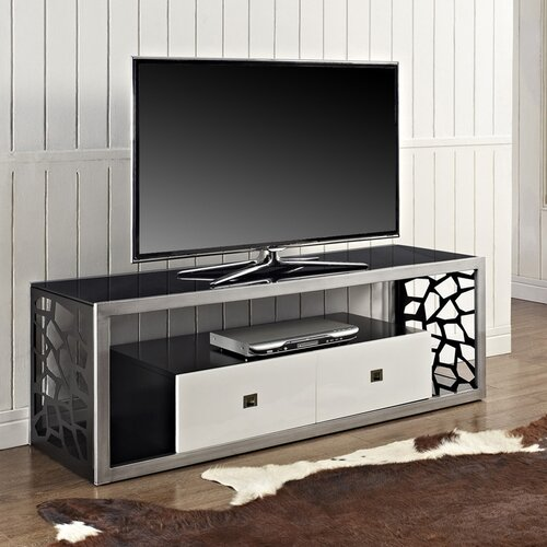 hokku designs 60 tv stand reviews wayfair. Black Bedroom Furniture Sets. Home Design Ideas