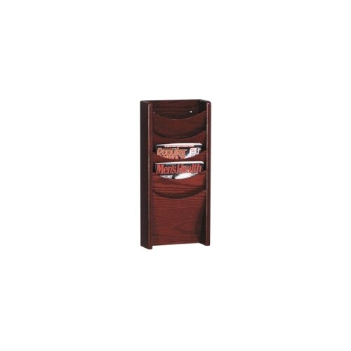 Buddy Products 5 Pocket Display Rack
