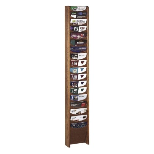 Buddy Products 18 Pocket Display Rack