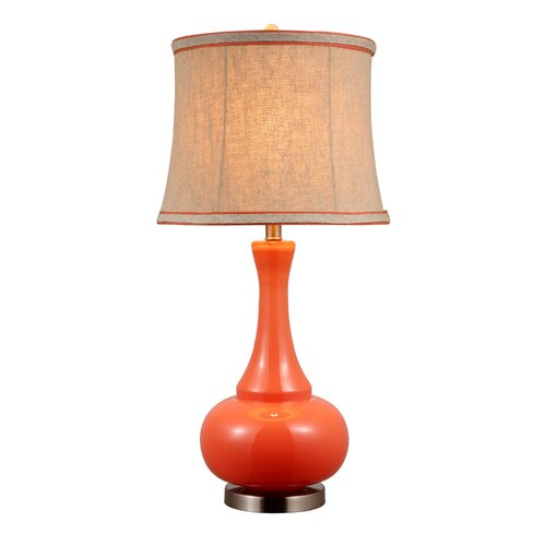 """AHS Lighting Aladdin 29"""" H Table Lamp with Empire Shade"""