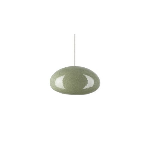 River Rock 1 Light Oblong Oval Pendant