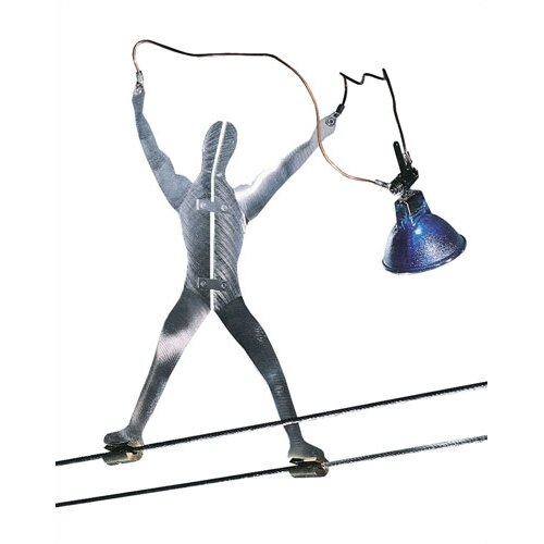 Tech Lighting Metal Man Functional Art Track Light