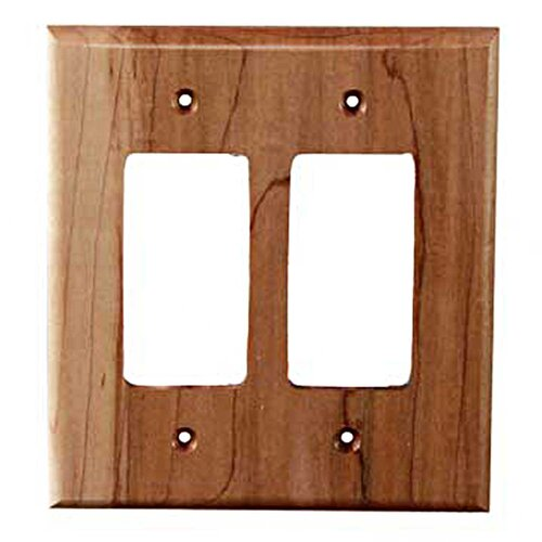 Traditional 2 Decora Unfinished Switch Plate