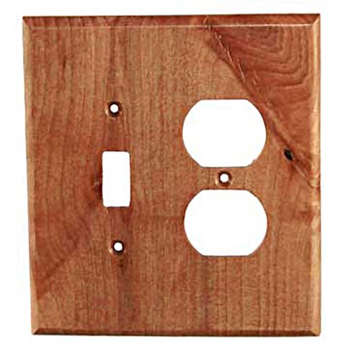 Traditional Toggle / Duplex Unfinished Switch Plate