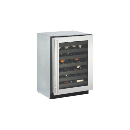 U-Line 43 Bottle Dual Zone Wine Refrigerator