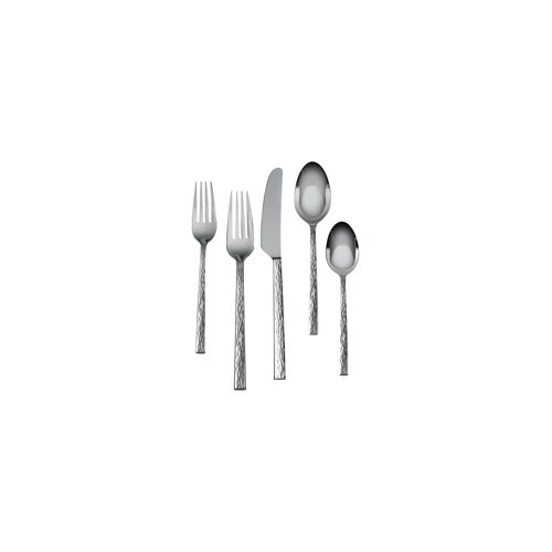 Hammered 5 Piece Place Setting