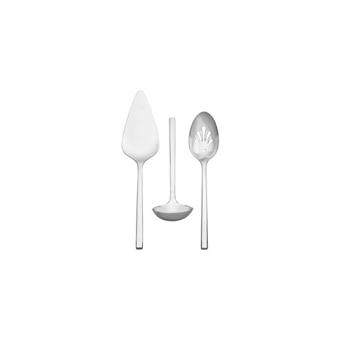 Polished 3 Piece Serving Set