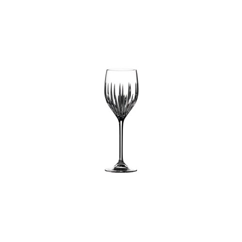 Vera Wang Princess Red and White Wine Glass