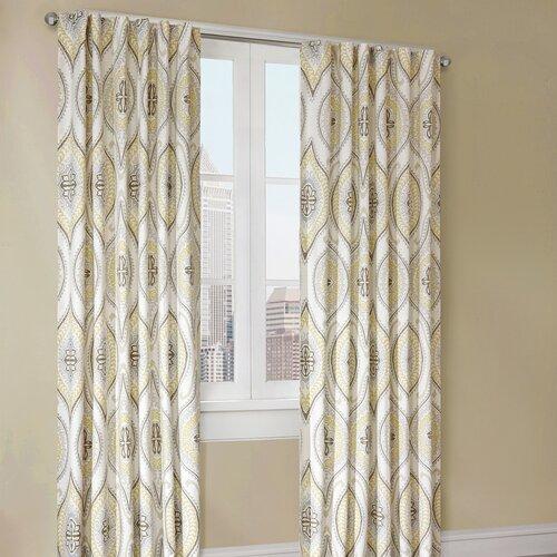 echo design lanterna single curtain panel reviews wayfair