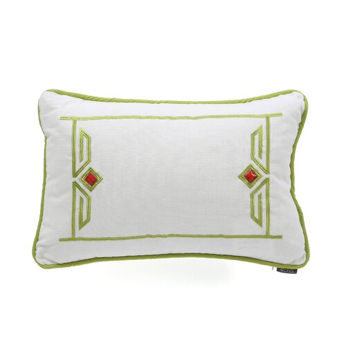 Gramercy Paisley Cotton Breakfast Pillow