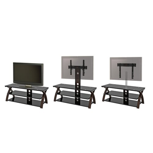 "Z-Line Designs Willow 3 in 1 Television Til /Swivel Universal Floor Stand/Wall Mount for up to 60"" LCD / Plasma"