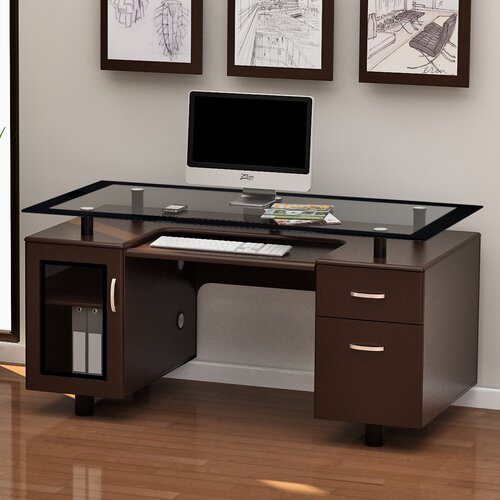 Z Line Designs Ayden Executive Desk & Reviews