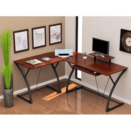 Z Line Designs Annia L puter Desk & Reviews