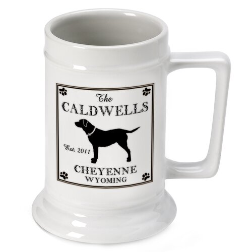 Personalized Gift Cabin Series Stein Mug