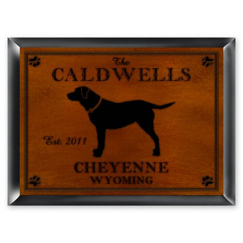 JDS Personalized Gifts Personalized Gift Cabin Series Traditional Framed Graphic Art
