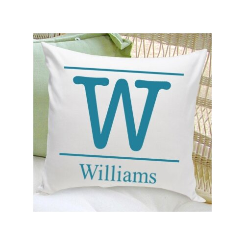 Personalized Gift Family Name Decorative Pillows